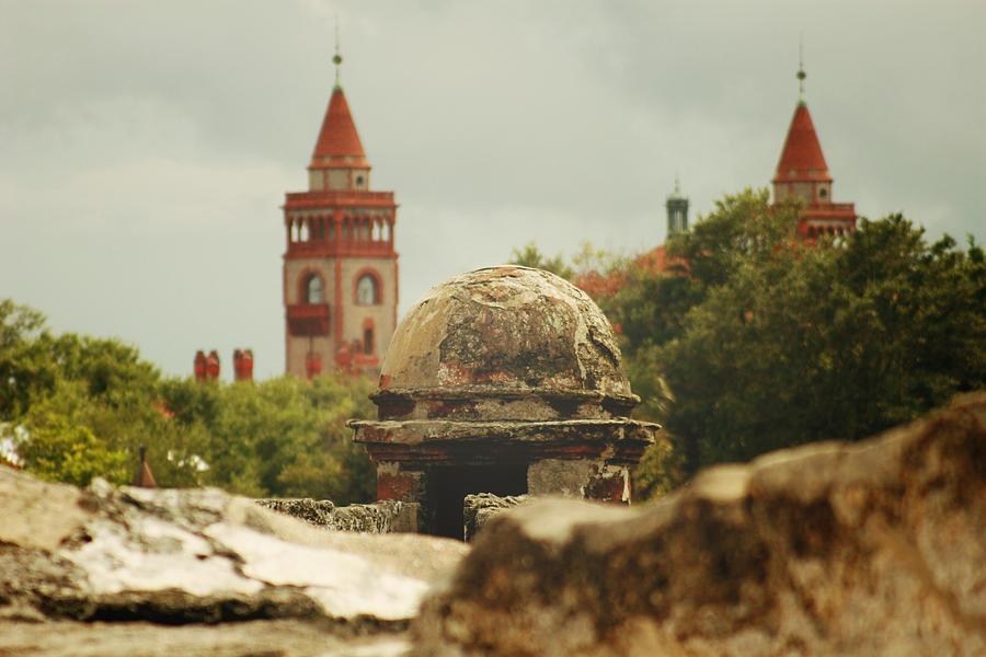 St. Augustine Photograph - St. Augustine Castillo De San Marcos  by Toni Hopper