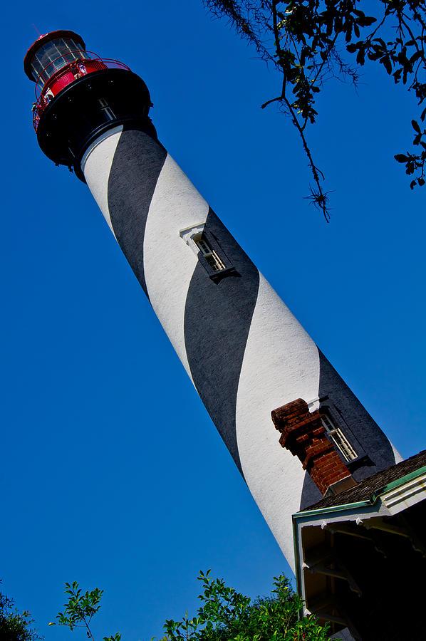 Lighthouse Photograph - St. Augustine by Felix Santos