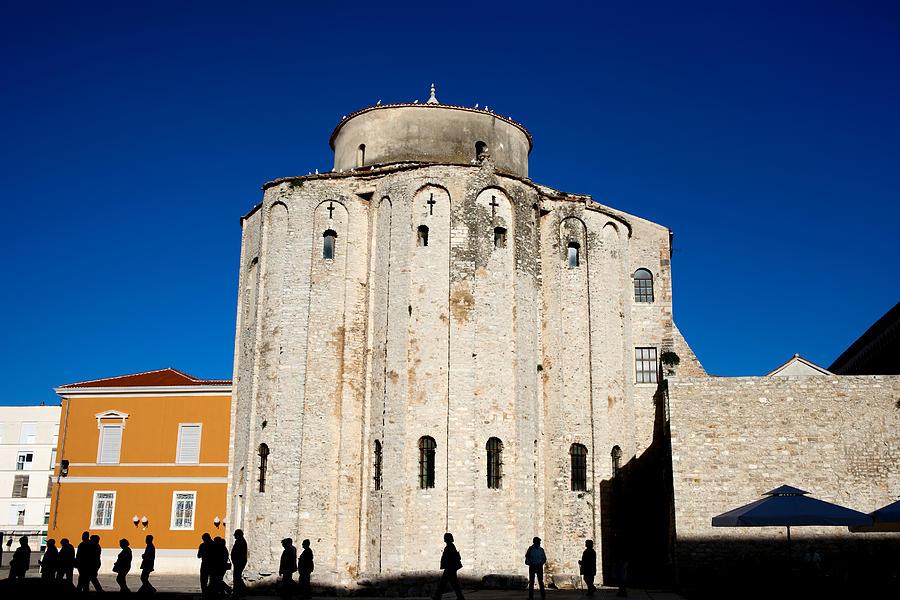 Church Photograph - St. Donatus Church In Zadar by Artur Bogacki