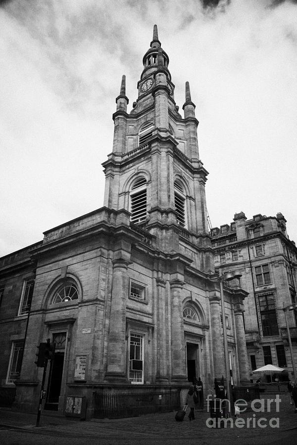 Saint Photograph - St Georges-tron Church Nelson Mandela Place Glasgow Scotland Uk by Joe Fox