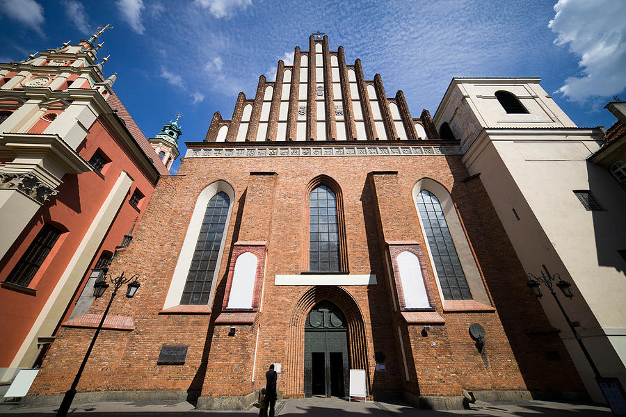 Cathedral Photograph - St. John Archcathedral In Warsaw by Artur Bogacki