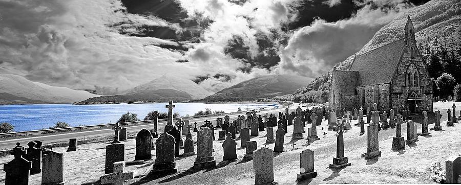 Church Photograph - St. Johns Ballachulish by Wendy White