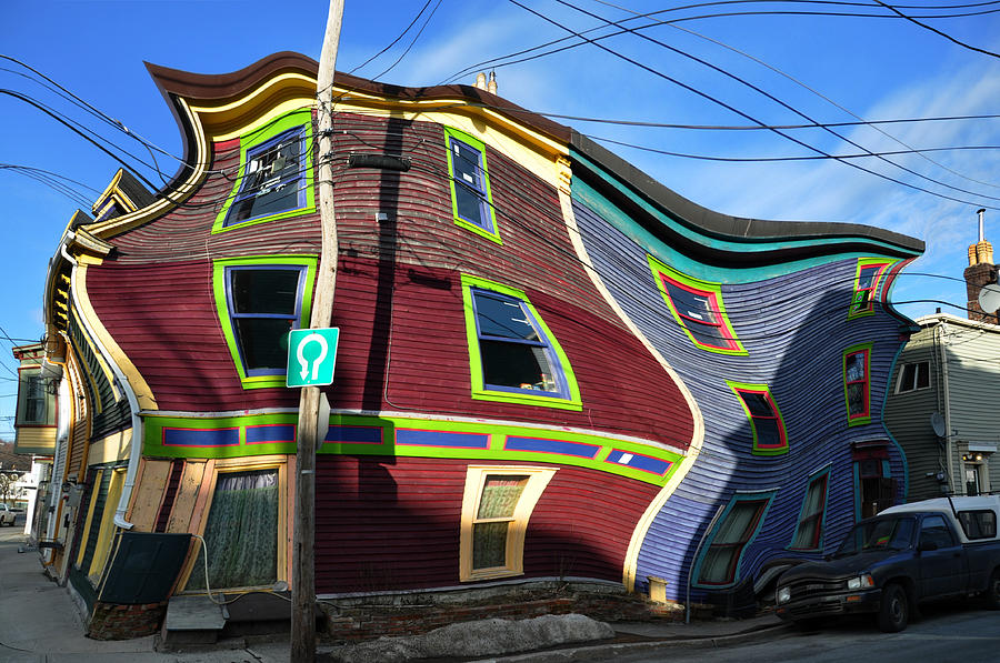 Newfoundland Photograph - St Johns Street House by Geoff Evans