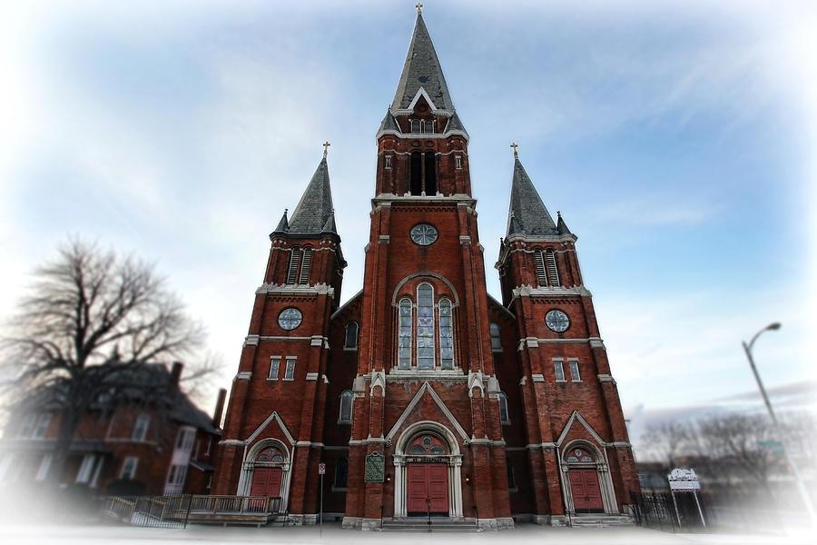 St. Photograph - St. Josaphat Roman Catholic Church Detroit Michigan by Gordon Dean II