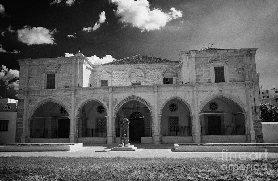 Saint Photograph - St Josephs Convent And Catholic Church St Joseph De L Apparition Larnaca Republic Cyprus by Joe Fox