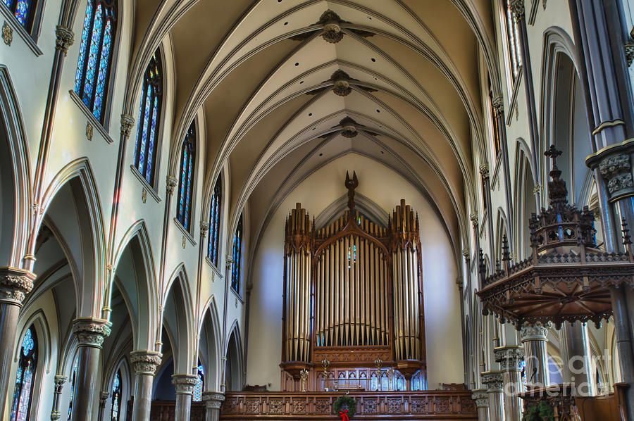 St Louis Church 13 Photograph by Chuck Alaimo