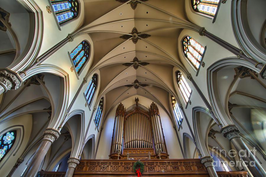St Louis Church 8 Photograph by Chuck Alaimo