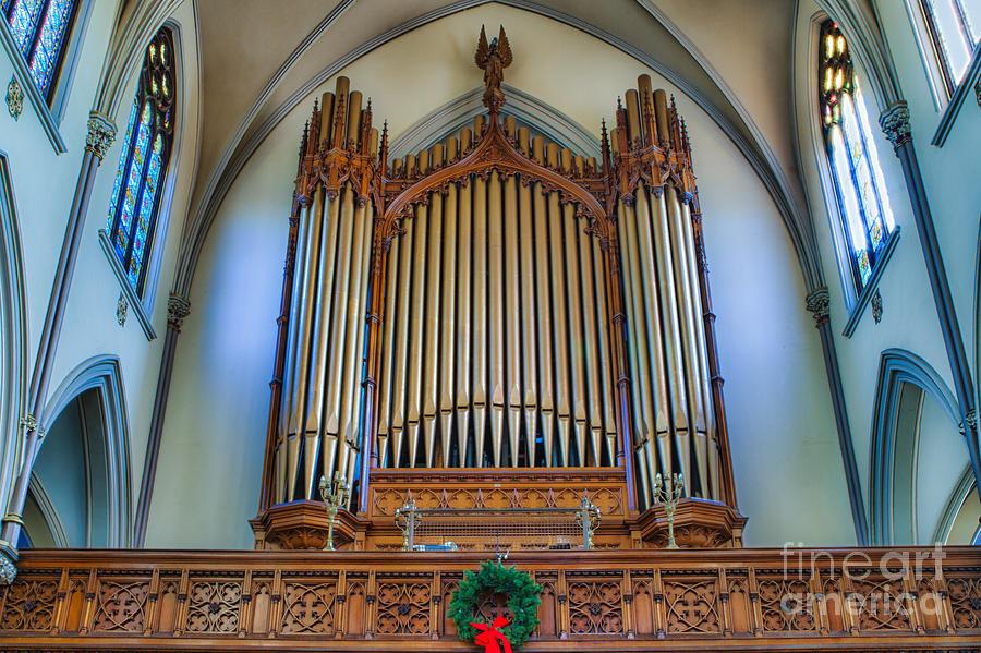 St Louis Church 9 Photograph by Chuck Alaimo