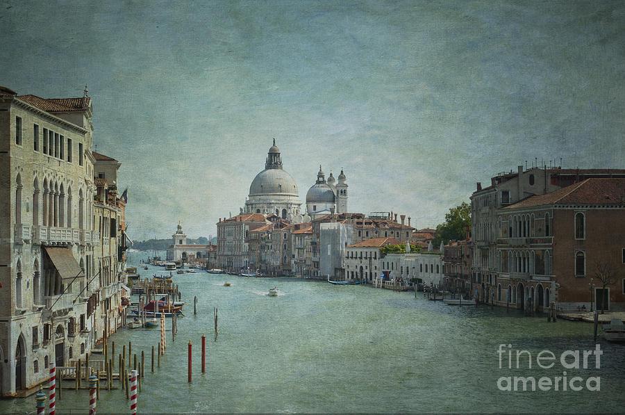 Venice Photograph - St Maria Della Salute by Marion Galt