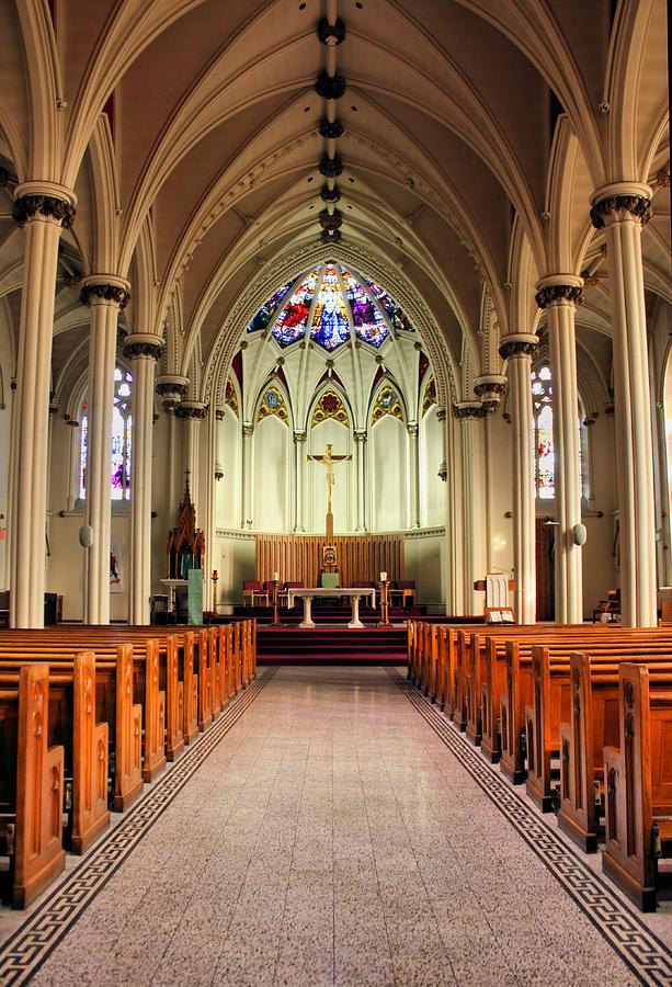 Church Photograph - St. Marys Basilica Halifax by Kristin Elmquist