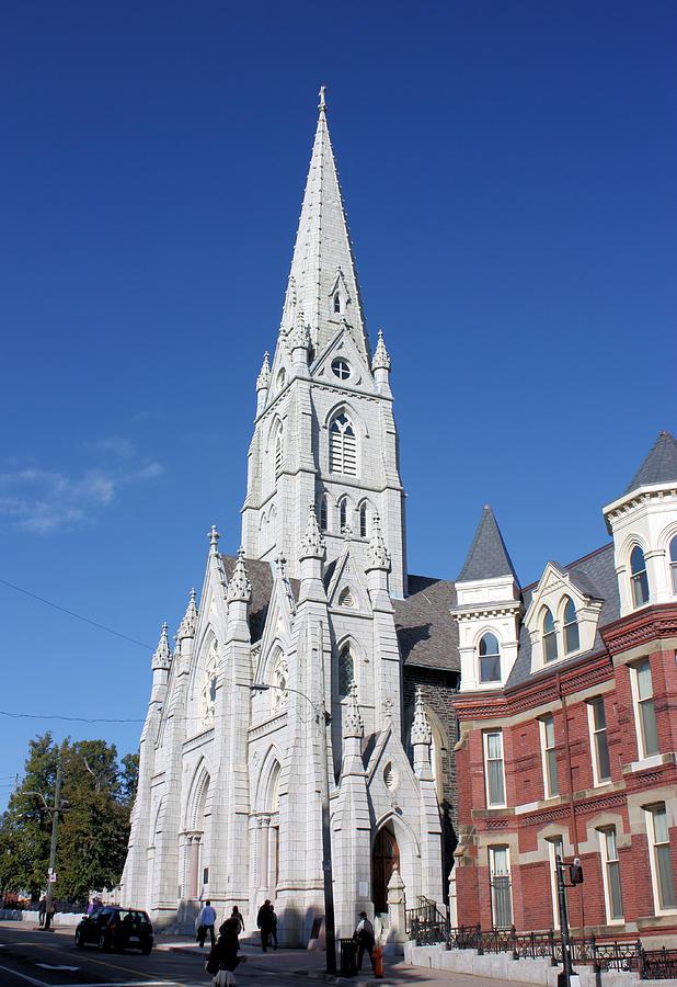 Halifax Photograph - St. Marys Basilica by Kristin Elmquist