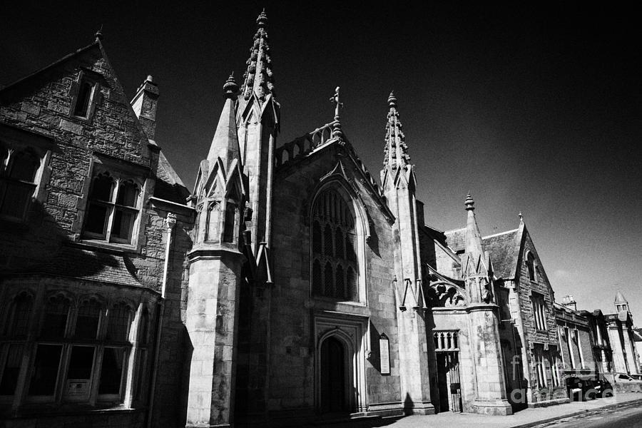 Saint Photograph - St Marys Roman Catholic Church Inverness Highland Scotland Uk by Joe Fox