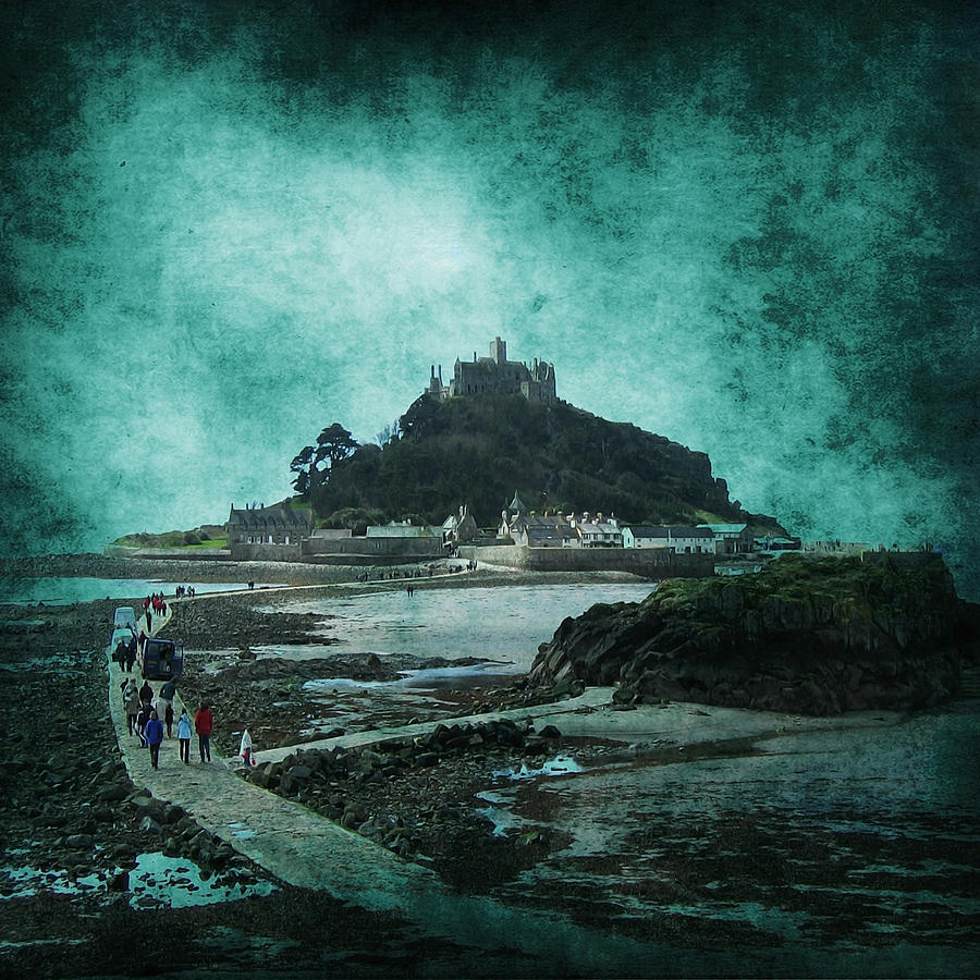 Abstract Photograph - St Michaels Mount by Svetlana Sewell