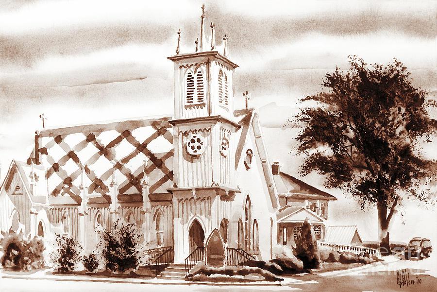 Church Painting - St. Pauls Episcopal Church IIi by Kip DeVore