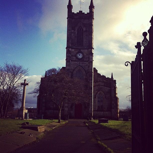 St Tomas Church, Salford Photograph by Jon Roy