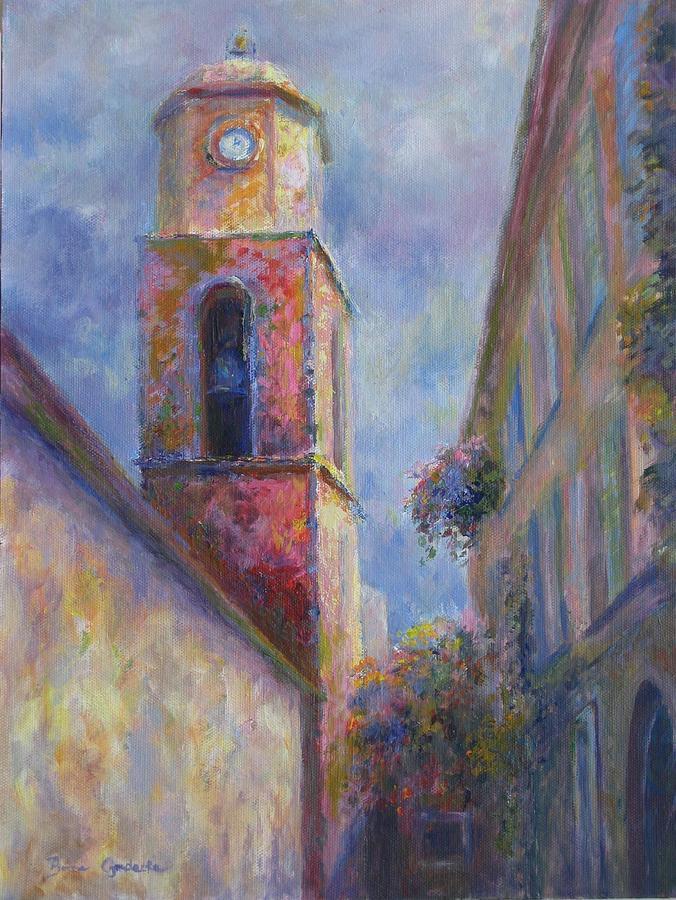 France Painting - St. Tropez by Bonnie Goedecke