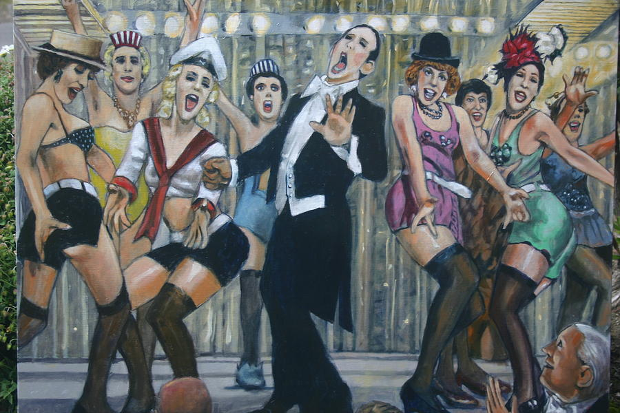 Caberet Painting - Stagelight by Joe Jaqua
