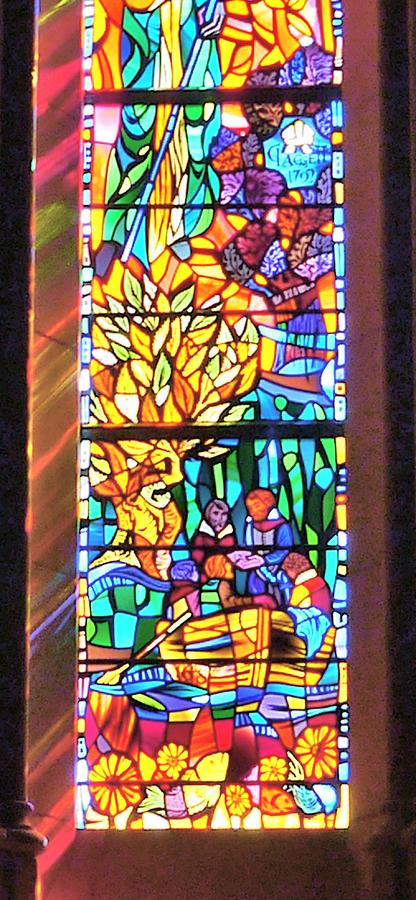 Stained Glass Art Work Photograph By Anthony Walker Sr