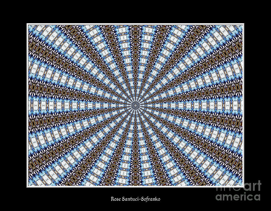 Stained Glass Window Photograph - Stained Glass Kaleidoscope 32 by Rose Santuci-Sofranko