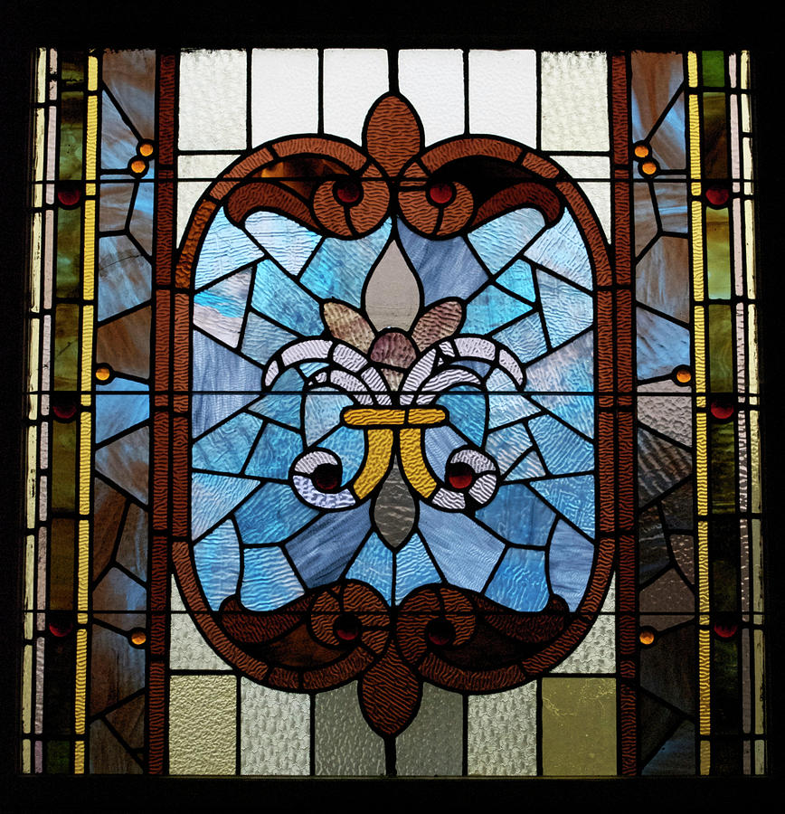 Stained Glass Photograph - Stained Glass Lc 19 by Thomas Woolworth