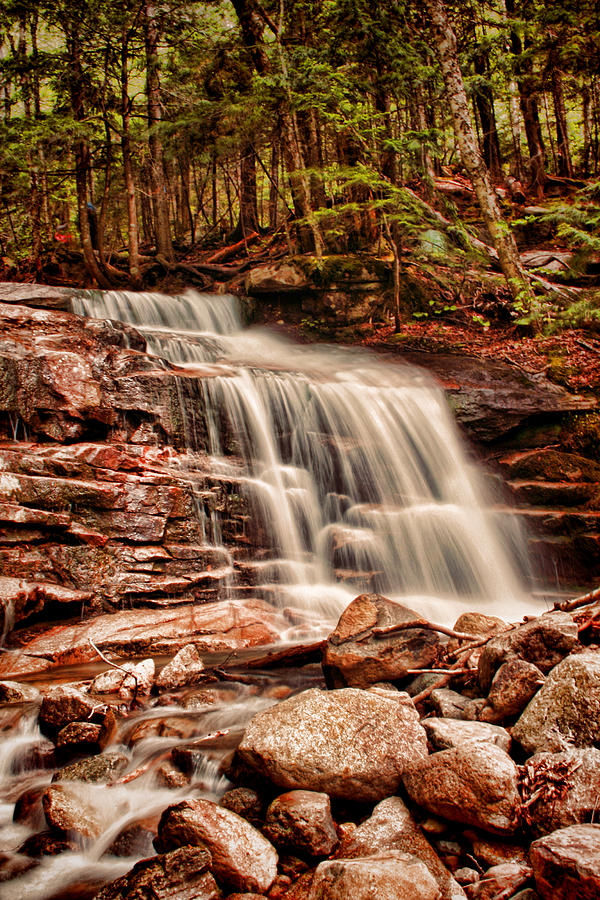 Stairs Photograph - Stairs Falls by Heather Applegate