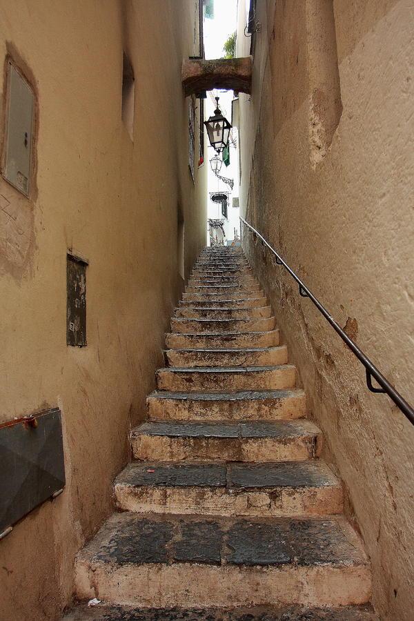 Architektur Photograph - Stairs Italian by Ryszard Unton