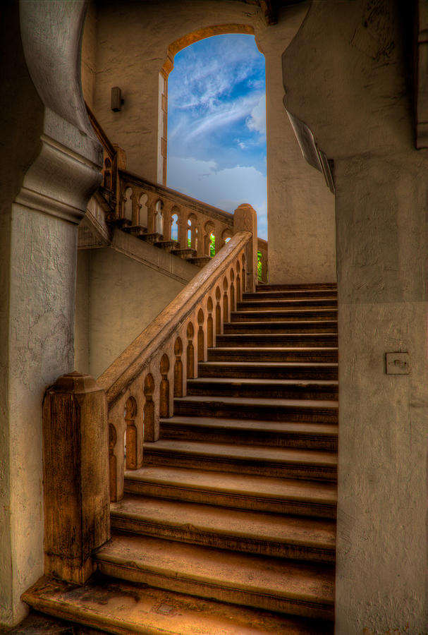 Architecture Photograph - Stairway To Heaven by Adrian Evans