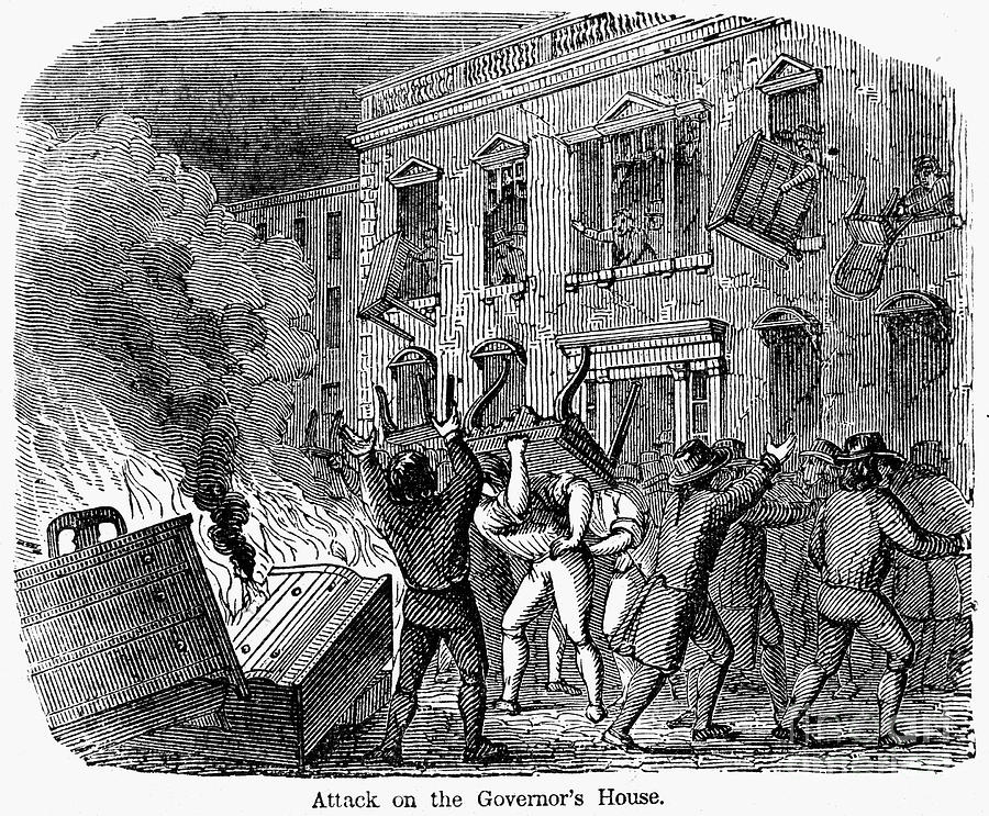 Stamp Act Riot 1765 Photograph By Granger