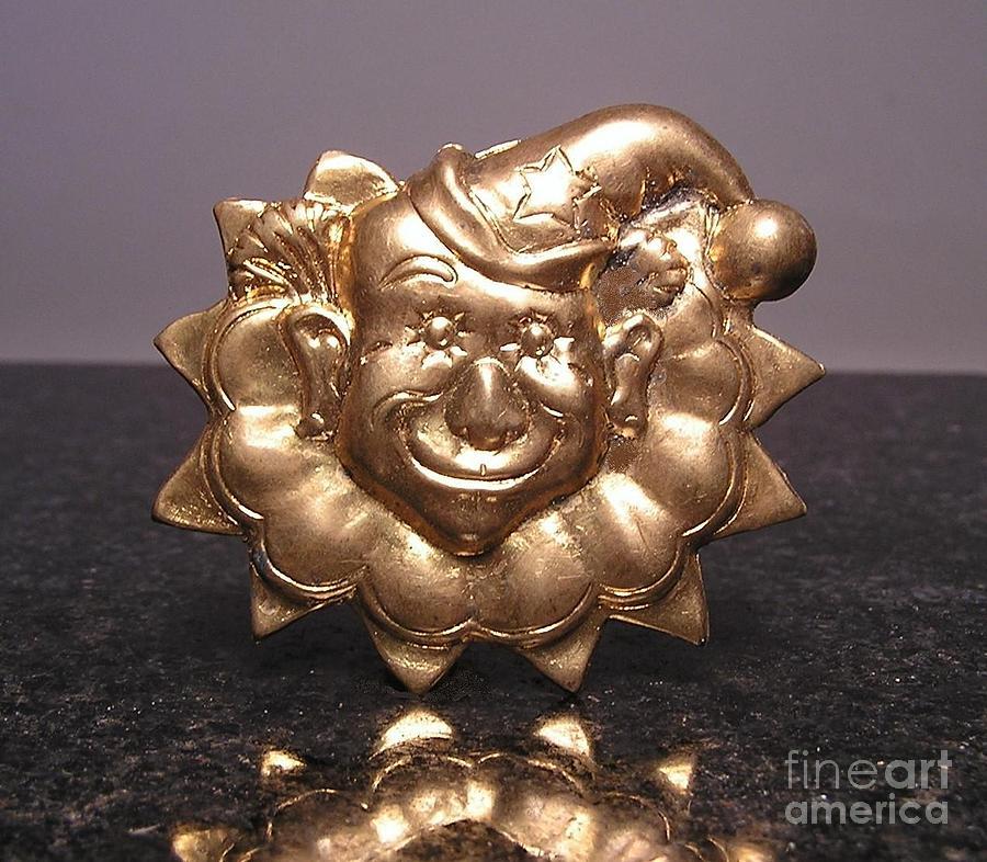 Clowns Jewelry - Stampings 18 by Dwight Goss