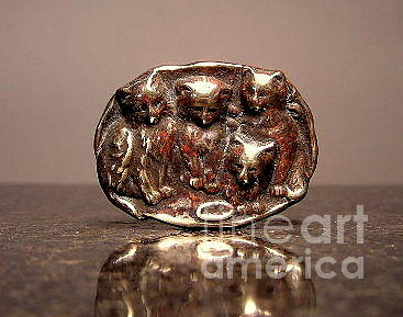Cats Jewelry - Stampings 4 by Dwight Goss