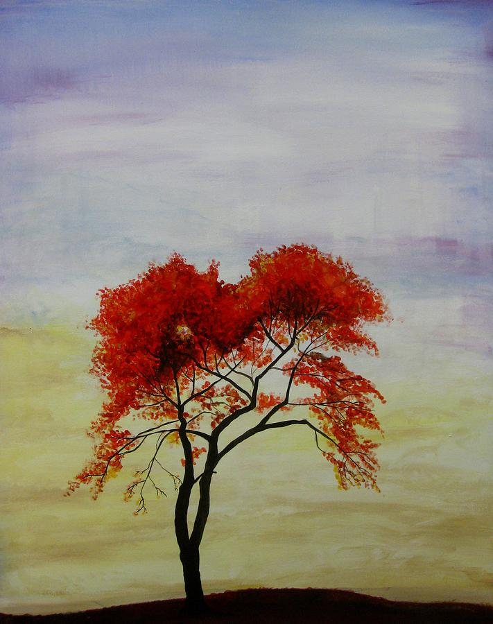 Tree Painting - Stand Alone by Salwa  Najm