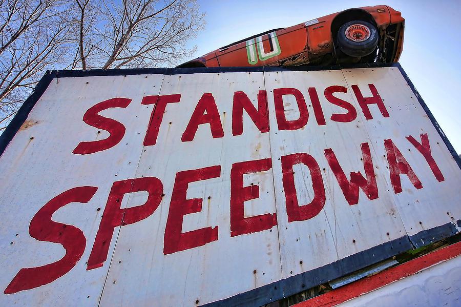 Standish Photograph - Standish Speedway by Gordon Dean II