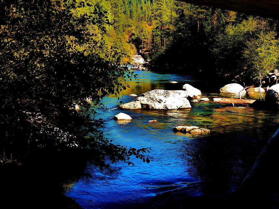 River Photograph - Stanislaus River by Helen Carson