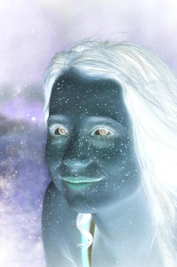 Stardust Digital Art - Star Freckles by Nikki Marie Smith