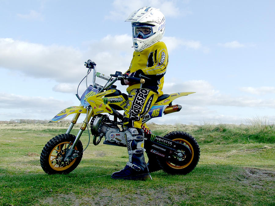 Motocross Photographs Photograph - Star In The Making by Eddie Armstrong