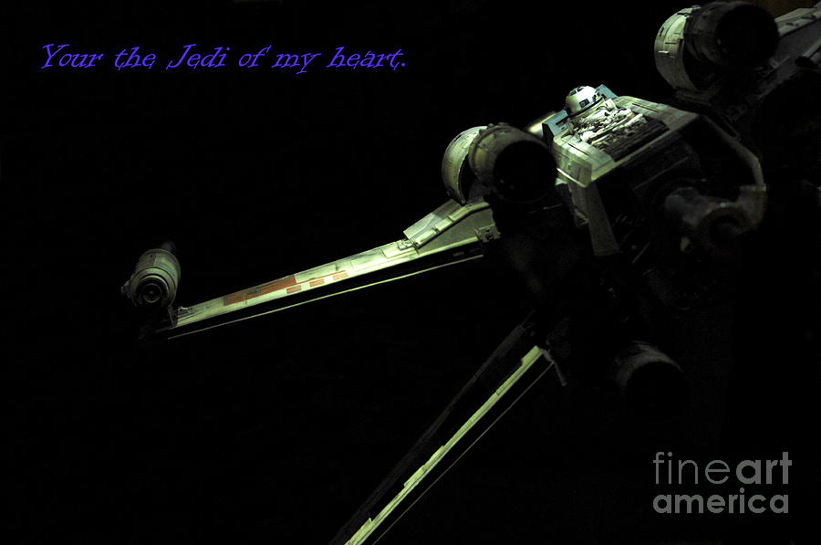 Star Wars Photograph - Star Wars Card by Micah May