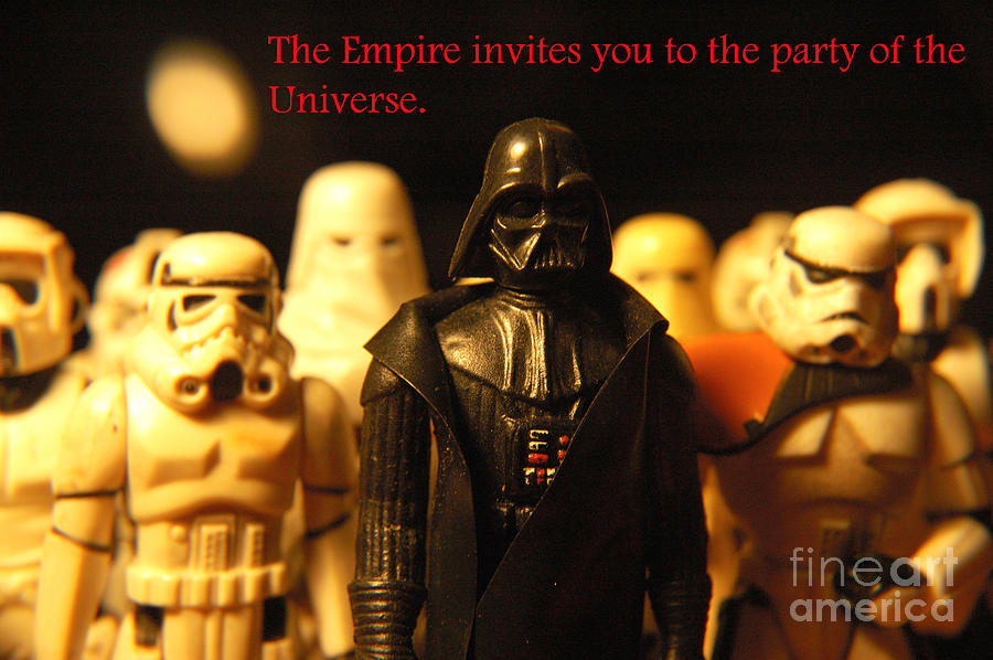 Star Wars Photograph - Star Wars Gang 5 by Micah May