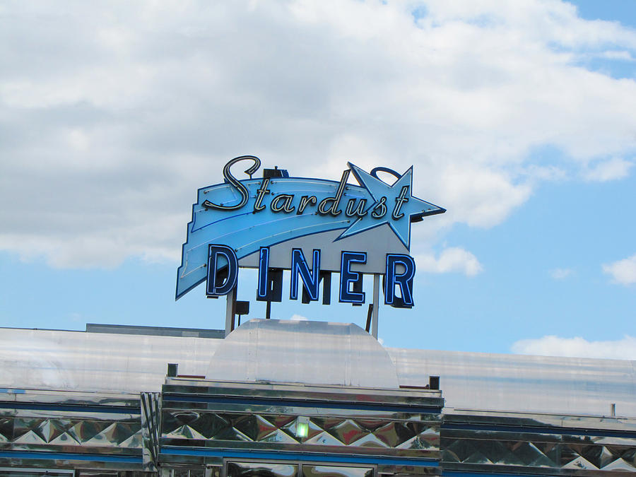 Diner Photograph - Stardust Diner by Kathleen Grace