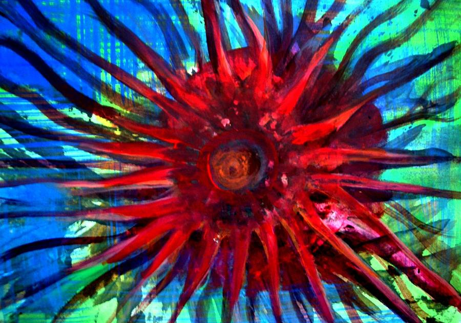 Painting Painting - Starfish 02 by Aquira Kusume