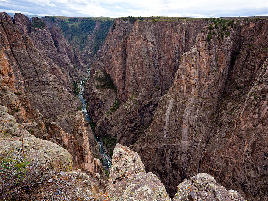 Colorado Photograph - Staring Into The Abyss by Adam Pender