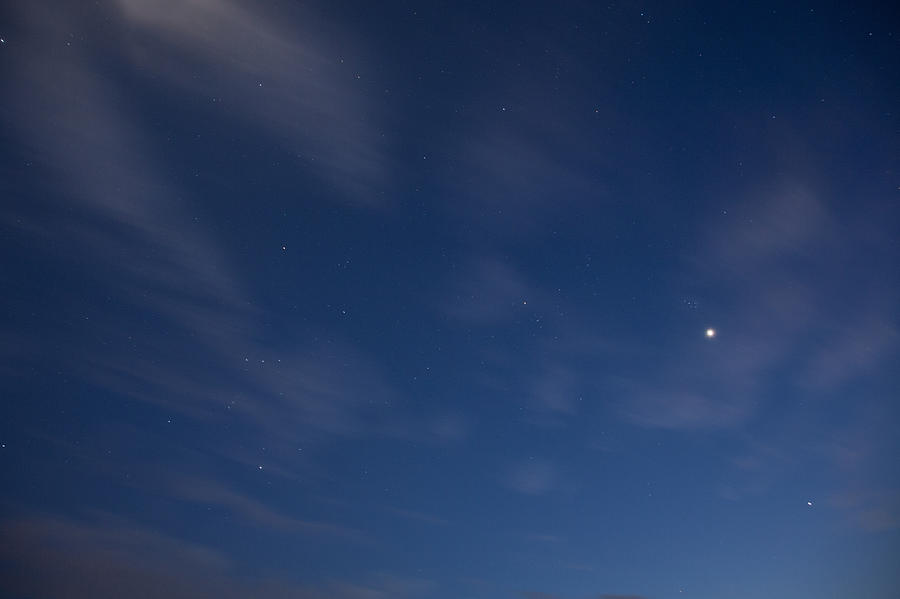 Stars Photograph - Starry Night by Ian Middleton
