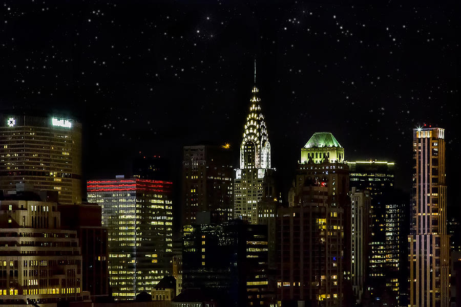 Buildings Photograph - Starry Night by Janet Fikar
