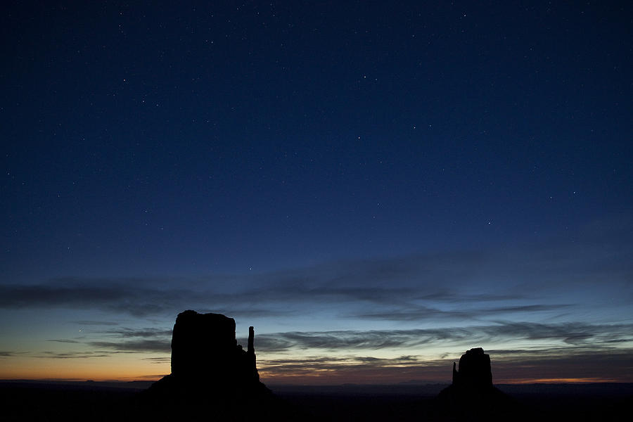 Star Photograph - Starry Skies In The West by Andrew Soundarajan