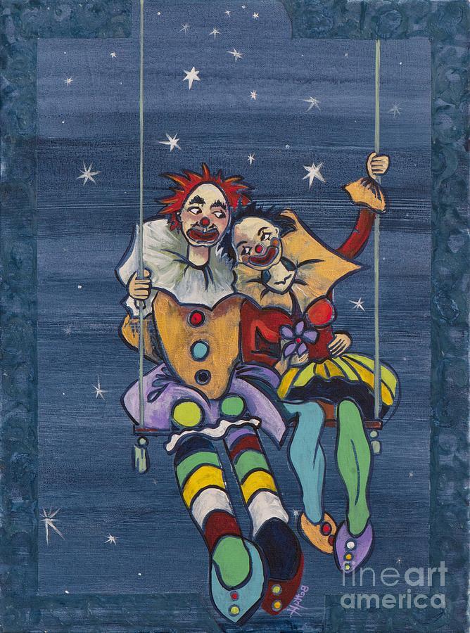 Love Painting - Starry Starry Night... by Elisabeta Hermann