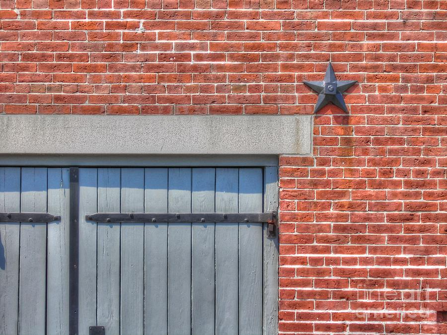 Brick Photograph - Stars And Stripes? by Michael Garyet