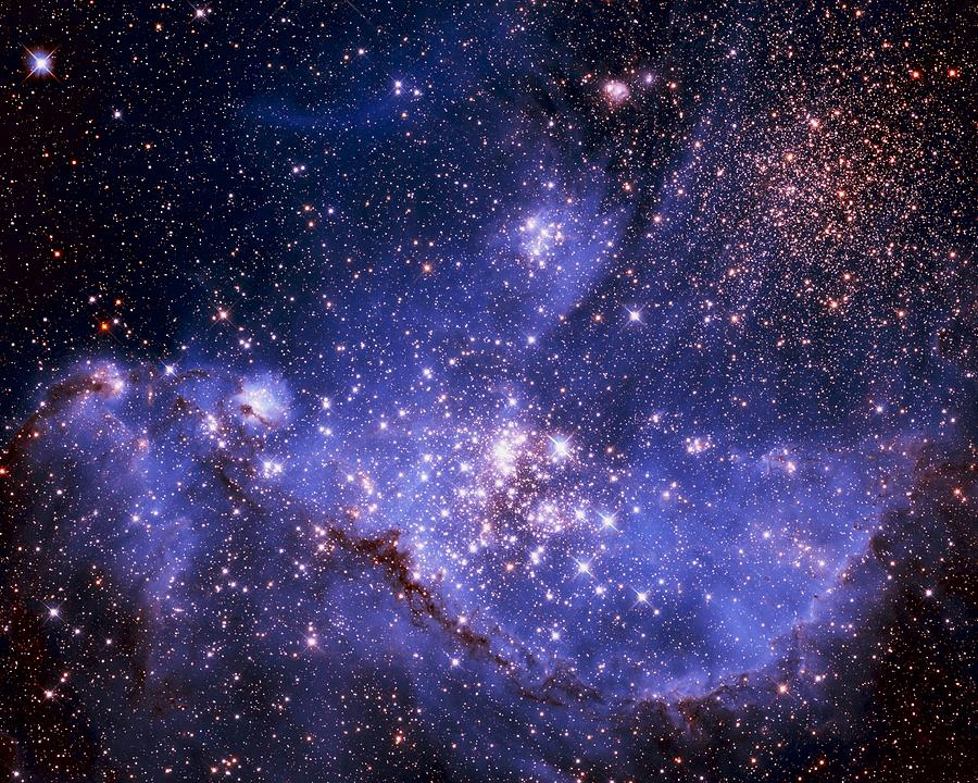 Astronomy Photograph - Stars And The Milky Way by Don Hammond