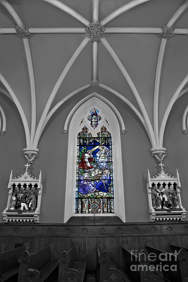 Altar Photograph - Stations Of The Cross by Susan Candelario
