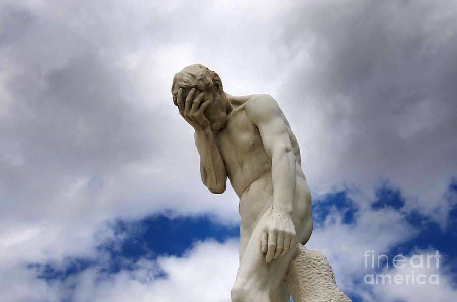 Statue jardin des tuileries paris photograph by bernard jaubert - Statues jardin des tuileries ...