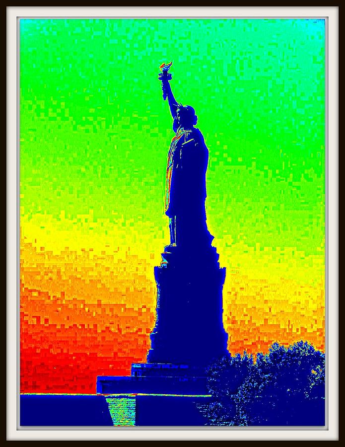 Butter Fly Photograph - Statue Of Liberty-1 by Anand Swaroop Manchiraju