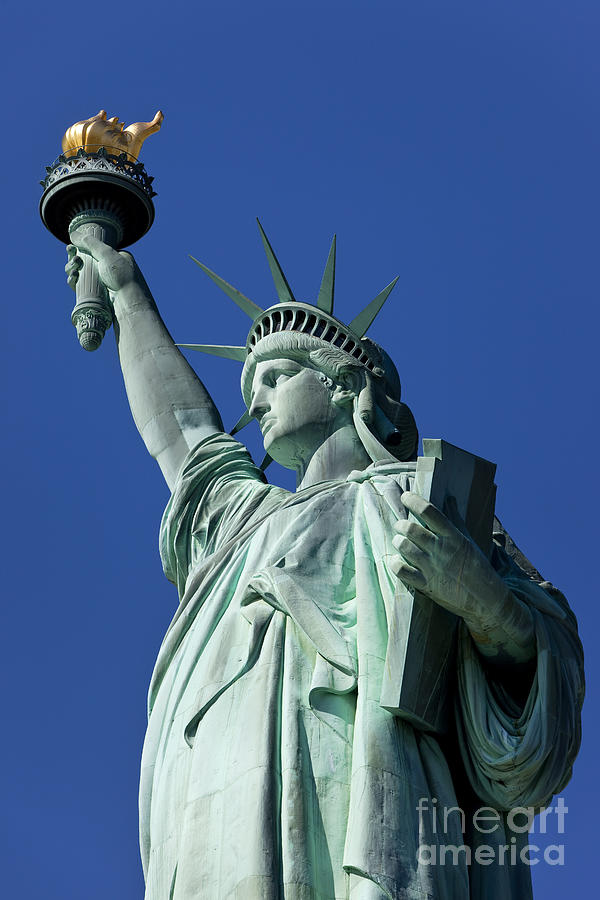 Statue Photograph - Statue Of Liberty by Brian Jannsen